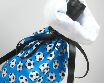 Time for Soccer, Class Wrap Wine Gift Bag
