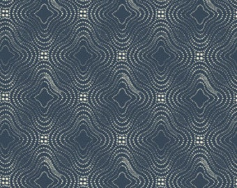END of BOLT ~~ 1 yards 26 inches ~~ SALE Parson Gray Curious Nature Universe in Academy Navy Boy Men Masculine Fabric Cotton Westminster