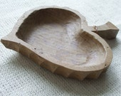 Wood Carved Dish