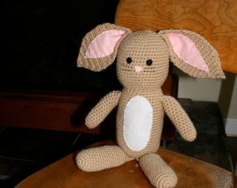 tan bunny rabbit - stuffed toy