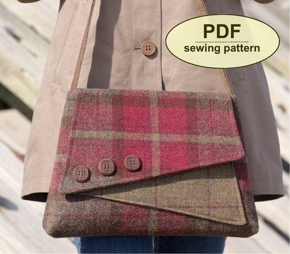 New Sewing Pattern To Make The Breckland Bag PDF Pattern