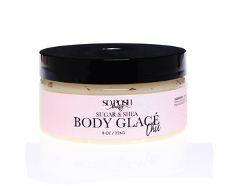 Natural Sugar Body Scrub with Shea Butter in 4 Gorgeous Scents