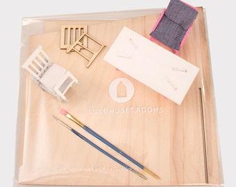 Custom Dollhouse Room Kit