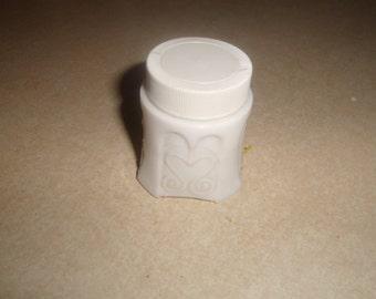 vintage avon perfume bottle sonnet cream sachet settled