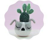 Succulent planter / puppy planter / dog head planter / cactus planter / puppy vase / gift for her / Dog lover gift
