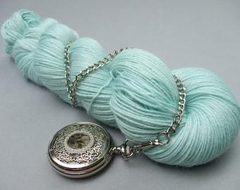 Gentle Caress 4 ply Sock & Shawl Yarn. Serenity.