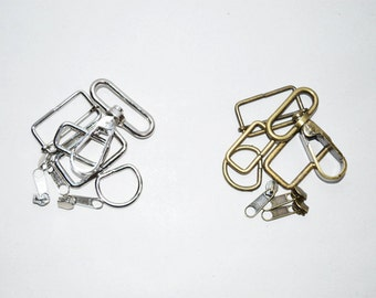 Metal parts upgrade for your tote bag, hardwer customization