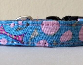 """Pink Bubbles - Eco Cat Collar (8""""-12"""")"""