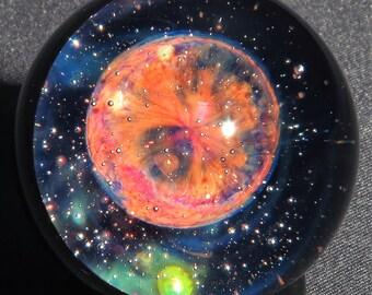 Planetary Nebula Glass Marble