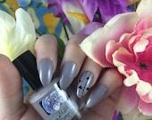Destination Risa nail polish Comet Vomit Spring Line lavender shimmer cream