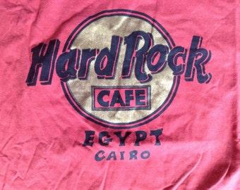 Vintage Hard Rock Cafe Cairo Egypt t shirt