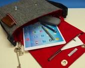 iPad Pro Messenger Bag with Harris Tweed option