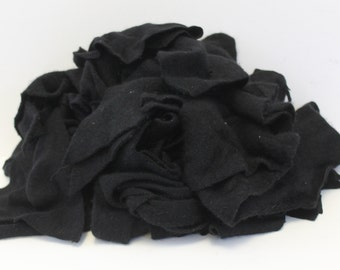 Recycled Cashmere Remnants - Black 16oz