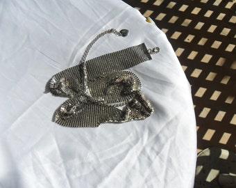 Authentic Vintage Liquid Silver Mesh 70's Belt