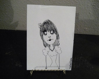 Lucy lost Her Sanity --- ORIGINAL Signed Illustration (2009)