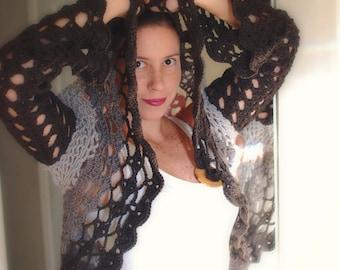 INSTANT DOWNLOAD - Crochet Pattern Romance Circular Vest