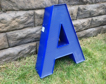 A - Reclaimed vintage letter - 18 inch - SALE