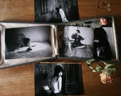 Where The Self Lives Series in Coffret - Five black and white matte prints titled and signed