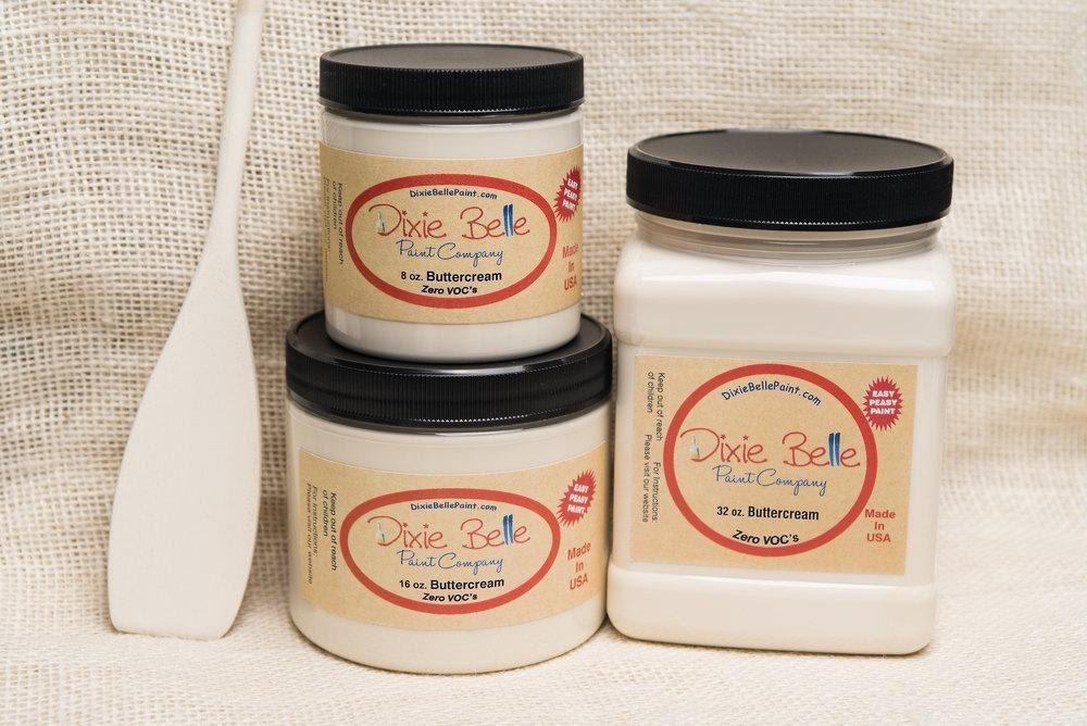Dixie Belle Buttercream Mineral Chalk Paint Diy For