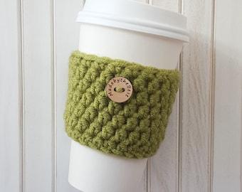 Crochet Coffee Cozy - Coffee Cozy - Coffee Sleeve - Coffee Gift -  Crochet Cup Cozy - Coffee Cup Cozy - Coffee Gift Basket - MadebytheBest