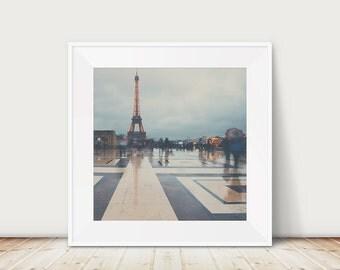 paris photograph eiffel tower photograph Paris in the rain photograph travel photography wanderlust art paris print eiffel tower print