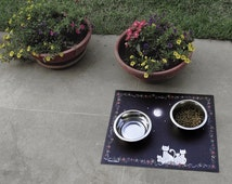 Cat Placemat or Feeding Mat
