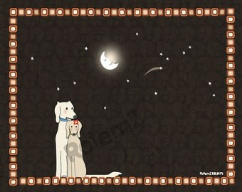 Waterproof Pet Placemat -Wish Upon A Star