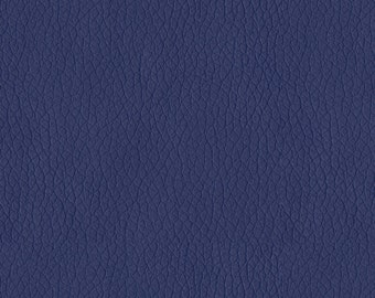 Quality Leather Look Upholstery Fabric -Faux Leather for upholstery- Home and Automobile-Color:Pacific Blue-Simulated Leather- per yard