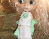 Blythe Skirt, Blouse, Shrug & Hairband (BD14816)