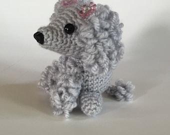 Hand Crocheted Poodle  - Poodle Amigurumi - Handmade Poodle