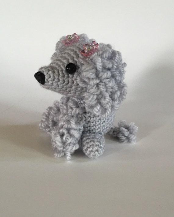 Hand Crocheted Poodle Poodle Amigurumi Handmade Poodle