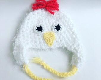 Funky Chicken Hat