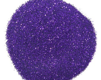 Fine Purple Craft Glitter 0.008 Hex - 1 Fl. Ounce for Glitter Crafts