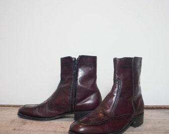40% off Sale 7 D | Men's Florsheim Cordovan Zipper Ankle Boots