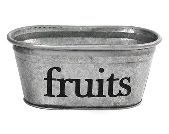 SALE! Fruits Kitchen Storage Tub, Small