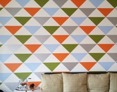 """Bold Triangle Wall Decals 