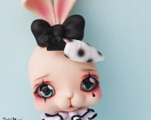 Tokissi / Tokissidoll / bunny / rabbit / Resin / pierrot