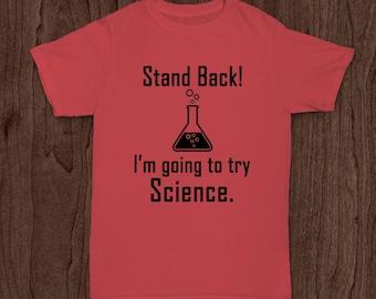 Back to School T Shirt, Boys Shirt, Girls Shirt, Science
