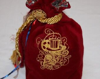 Large Tarot Bag - Steampunk Owl