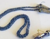 Natural Gemmy Blue Sapphire Gemstone Beads