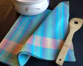 Handwoven Colorful Cotton Kitchen Towel (1224A)
