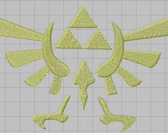 Zelda Machine Embroidery design