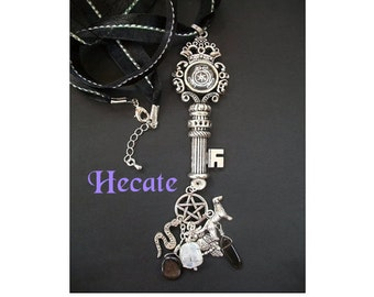 Hecate's Key Amulet / Necklace to Honor the Goddess