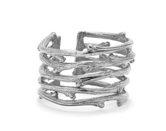 Love Is All You Need Twig Ring in Sterling Silver *free shipping*