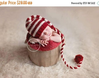 newborn, long tail hat, baby christmas hat,  newborn photo prop, newborn photo outfit, newborn, photography outfit