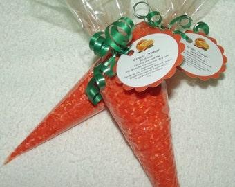 Ginger Orange Bath Salts, Carrot Bath Salts, Easter Bath Salts, Easter Gift