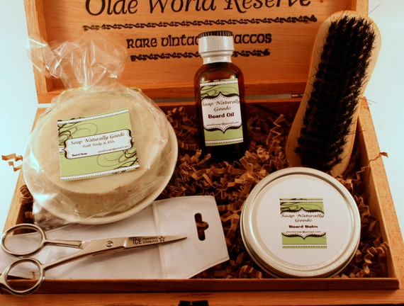 deluxe beard and grooming kit personalized beard grooming. Black Bedroom Furniture Sets. Home Design Ideas