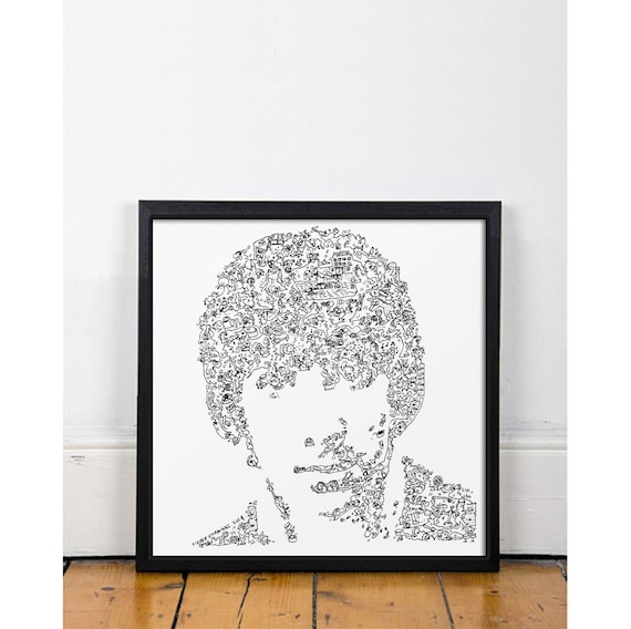 The who poster keith moon the loon fine art print by - Keith moon rolls royce swimming pool ...