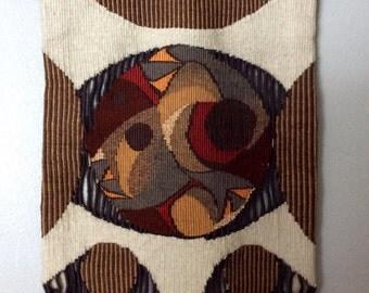 Georgie Elayne Bick Textile Wall Hanging Panel - 1979 - Girouette