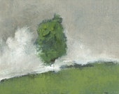 Landscape Art by John Shanabrook - 5 x 7 - Spring Courage
